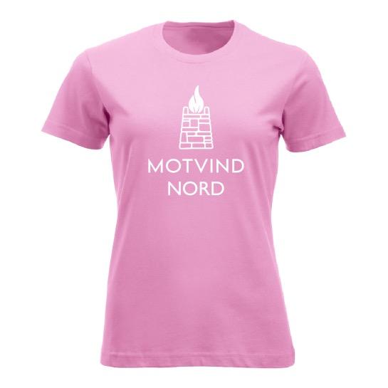 Motvind Nord T-skjorte. Damemodell. Fås i flere farger.