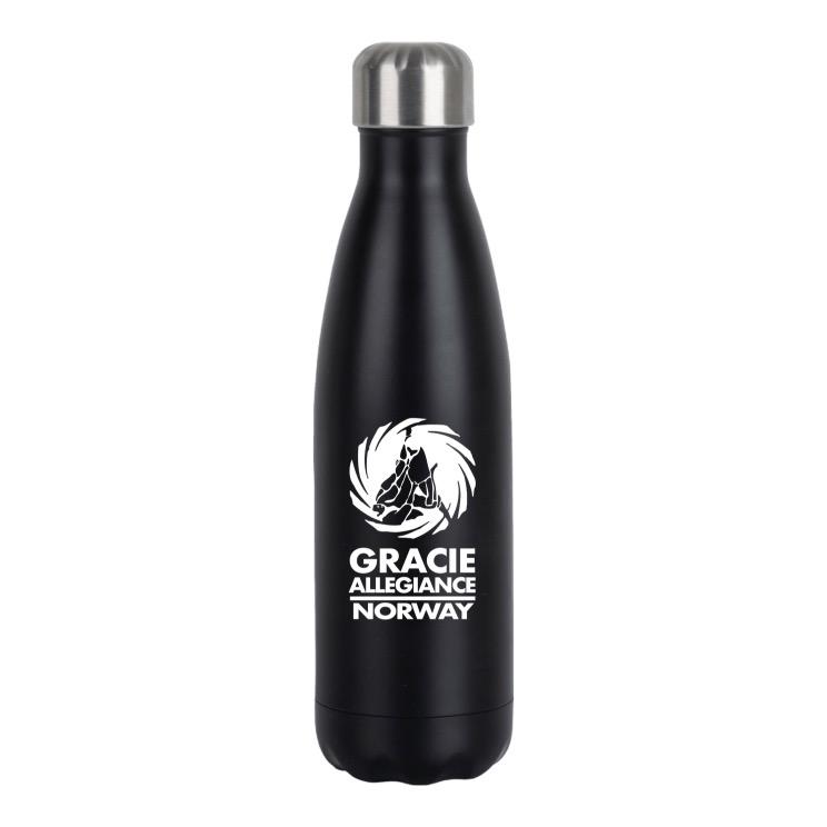 GAno drikkeflaske - svart